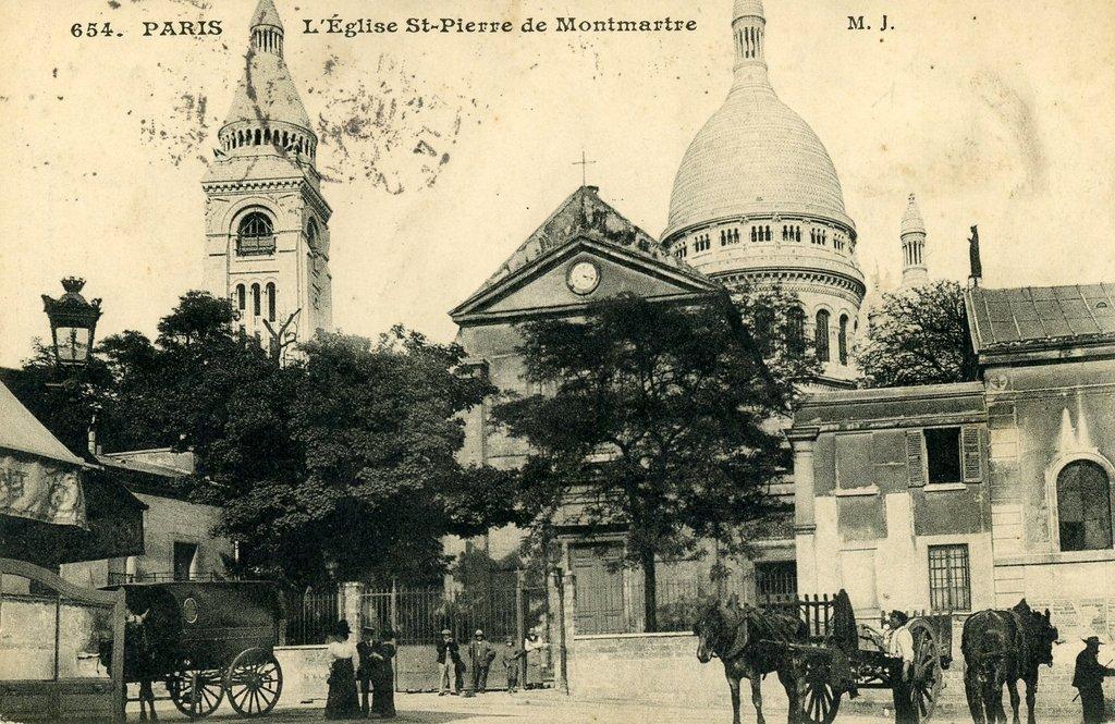1900-Eglise St Pierre Montmartre