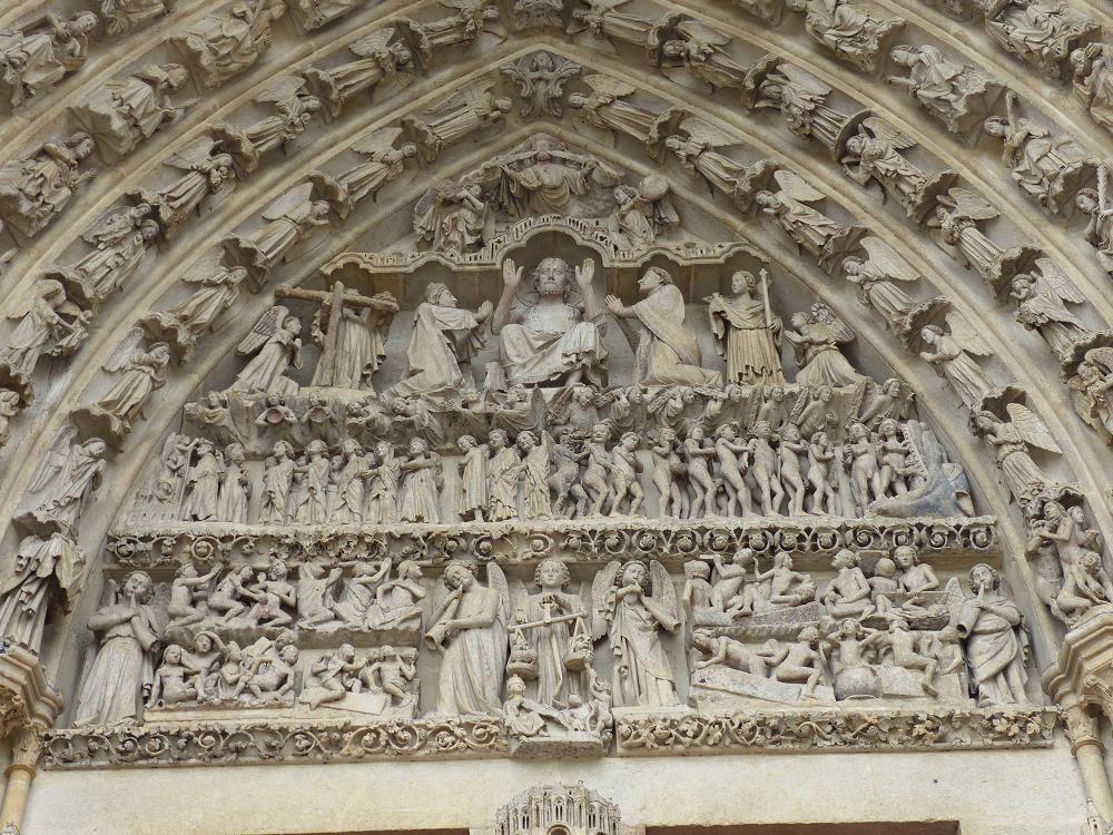 Amiens, détail de la cathédrale