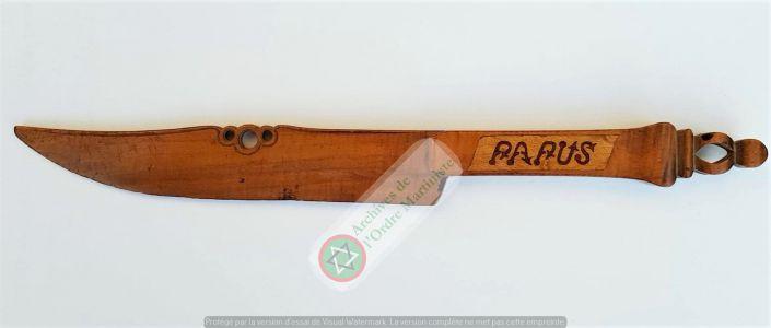 Couteau Cérémoniel Papus 2